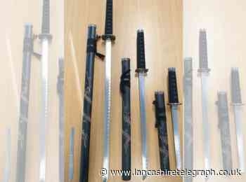 Three samurai swords handed to police after concerned member of public 'found them'