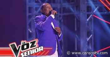 Pedro Bernal convenció a los tres entrenadores de La Voz Senior de su potencial artístico - Caracol Televisión