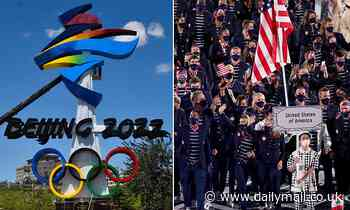 US athletes MUST be vaccinated against Covid to compete at 2022 Winter Olympics in Beijing