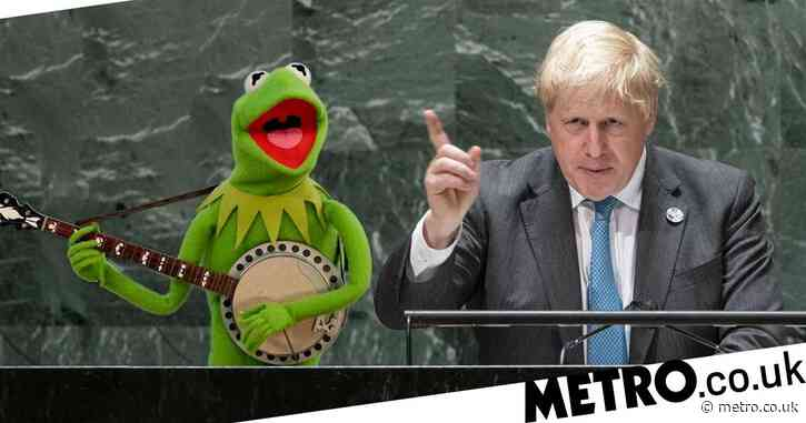 Boris lashes out at Kermit saying he was wrong on how easy it is to be green