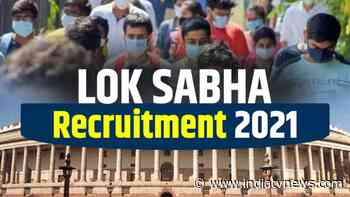 Lok Sabha Recruitment 2021: Pay scale over Rs 60,000; apply for Content Writer, Social Media Marketing posts - India TV