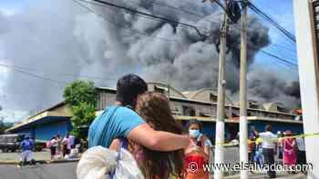 VIDEO: Incendio destruye el Mercado San Miguelito   Noticias de El Salvador - elsalvador.com