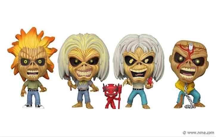 Iron Maiden mascot Eddie is getting a Funko Pop! NFT