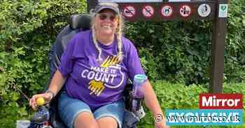 Disabled woman 'in 24/7 pain' forced to drag herself down steps to swim in lake