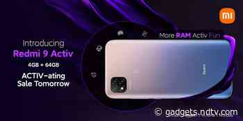 Redmi 9 Activ to Go on Sale in India on September 24, Specifications Tipped Alongside Redmi 9A Sport