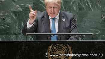 Grow up on climate change: UK's Johnson - Armidale Express