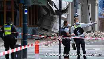 Man injured in Vic quake, 10 aftershocks - Armidale Express