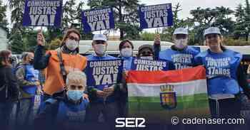 Los loteros salen a la calle en Madrid - Cadena SER
