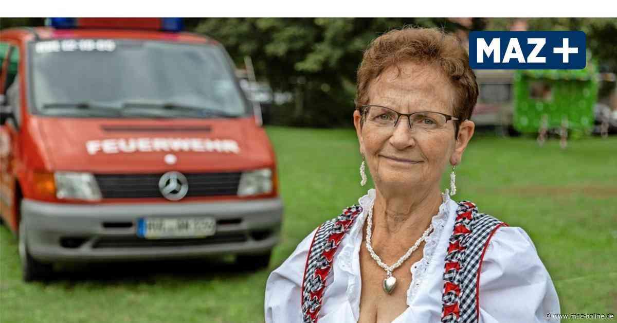 Barnewitzerin Elke Finkbeiner ist die treue Seele ihres Ortes und der Feuerwehr - Märkische Allgemeine Zeitung