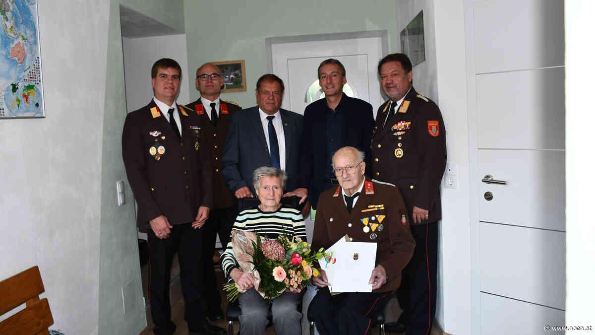 Haselberg - 80 Jahre mit Leib & Seele bei Feuerwehr - NÖN.at