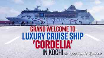Luxury cruise liner Cordelia reaches Kochi, marks revival of COVID-hit tourism in Kerala