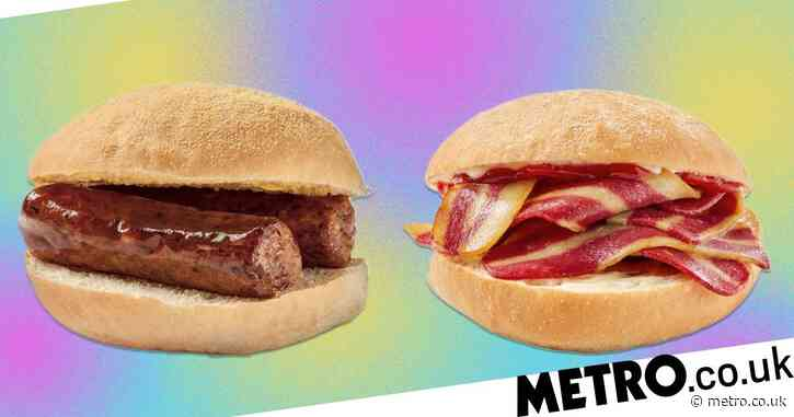 Greggs launches new vegan bacon and sausage breakfast rolls