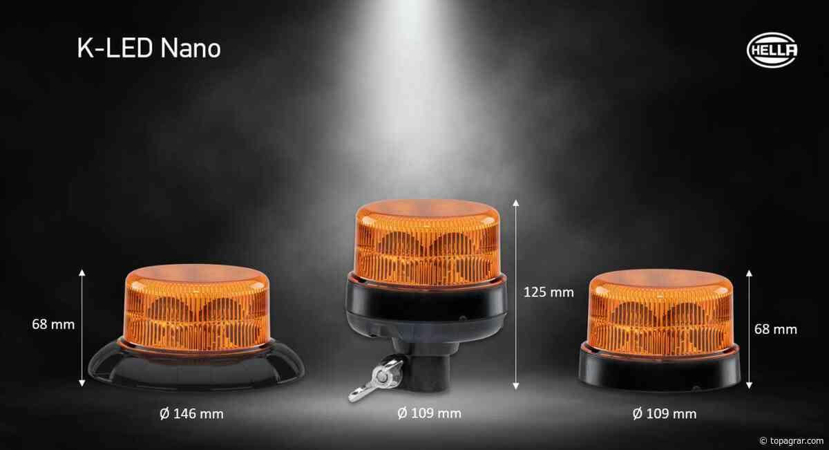 Hella bringt neue Kennleuchte K-LED Nano auf den Markt - top agrar online