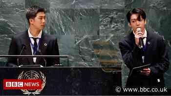 BTS: Korean boyband open UN general debate with performance and speech