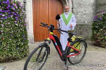 Eerste fietswijding in Lambertusparochie