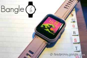 Bangle.js 2 programmable smart watch