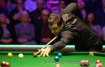 Snooker legend Ronnie O'Sullivan is coming to Colne tonight