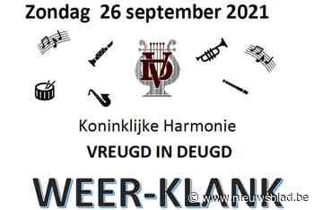 Harmonie Vreugd in Deugd brengt concert in Hoeve Vincent - Het Nieuwsblad