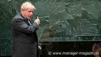 Uno-Vollversammlung in New York: Boris Johnson, Kermit der Frosch und das Klima