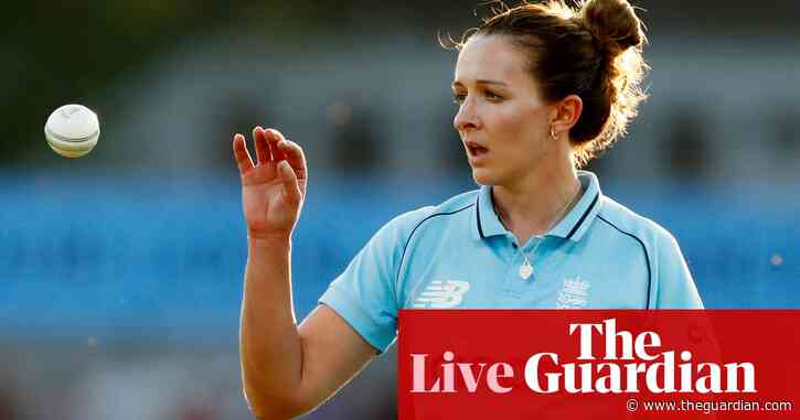 England v New Zealand: fourth women's one-day international – live!