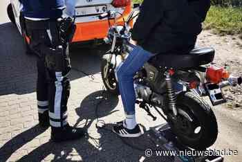 Politie betrapt drie bestuurders met opgedreven bromfiets <BR />