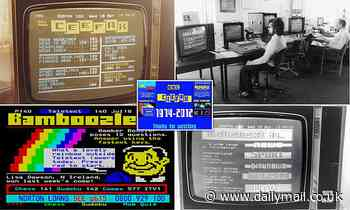 The birth of the 'supertelly': When it launched in September 1974, CEEFAX was a minority interest