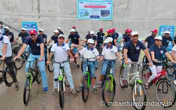 J&K Tourism organizes promotional event at Ahmedabad; Cycling event held at Sabarmati Riverfront - India Education Diary