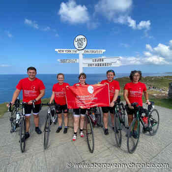 Cycling challenge raises fantastic £10000 for charities - Abergavenny Chronicle