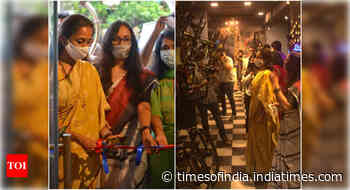 Supriya Sule launches cycling-themed café in Mumbai - Times of India