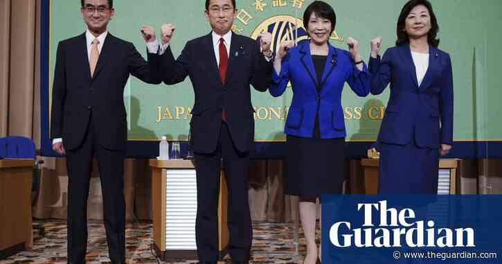 Race to become Japan's next PM too close to call days before vote