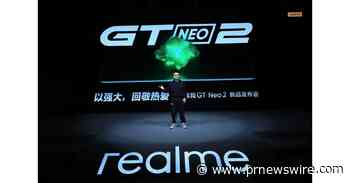 realme Introduces Neo Flagship Killer realme GT Neo2 in China Starting at 2,499 RMB - PRNewswire