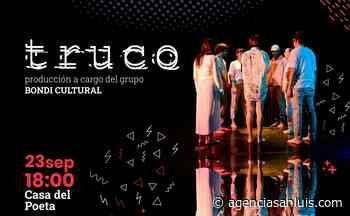 """El Ciclo de teatro """"Hecho en Merlo"""" presentará el audiovisual """"Truco"""" - Agencia de Noticias San Luis"""