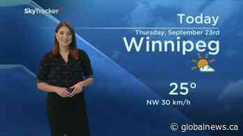 September 23 Weather Update with Kahla Evans