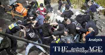 Protests stretched the thin blue line to breaking point