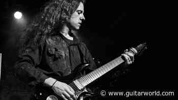 """Rivers of Nihil's Brody Uttley: """"If you're building a solo, really consider what you're playing over, because it's just as important as what you're playing"""" - Guitar World"""