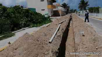 Instalan tubería para suministro de agua en colonias de Isla Mujeres - PorEsto