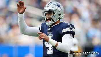 Cowboys' Dak Prescott and Eagles' Jalen Hurts bring top-notch intangibles to QB duel