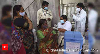 Coronavirus live updates: 66% of population given at least 1 dose of vaccine, 23% received both jabs - Times of India