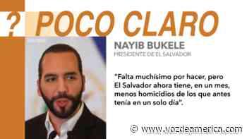 Bukele sí ha reducido los asesinatos en El Salvador, pero no se sabe bien cómo - Voz de América