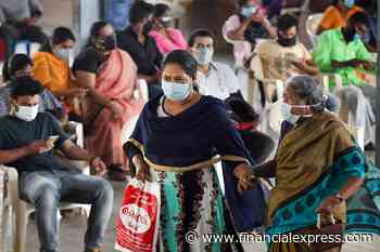 Coronavirus (Covid-19) India Live News: Govt approves vaccine at home for differently-abled, people with restricted mobility; Mumbai logs 497 new cases - The Financial Express