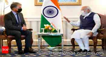 PM Modi holds meeting with First Solar CEO in Washington