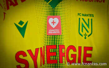 Fondation - FCN/SB29 - Les maillots des Nantais aux enchères pour les soignants ! - FC Nantes
