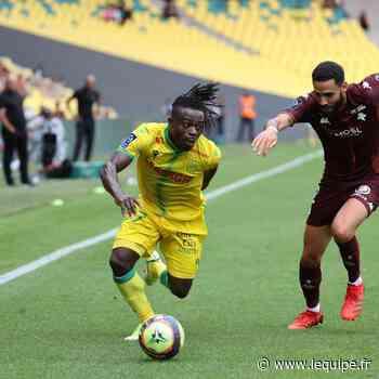 Moses Simon, le serial passeur du FC Nantes - L'Équipe.fr