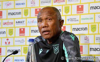 Antoine Kombouaré - ''Quand on commence à gagner, on a faim de victoires'' - FC Nantes