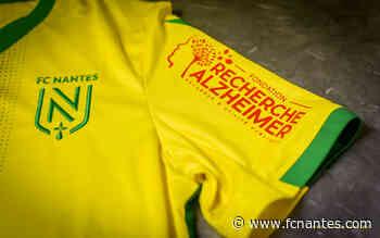 Fondation Recherche Alzheimer - LNA Santé et le FC Nantes main dans la main - FC Nantes
