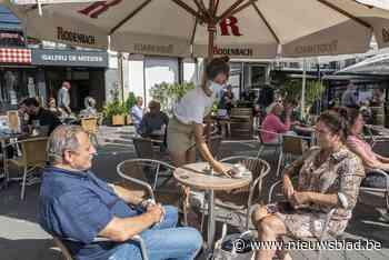 """Grote terrassen blijven, misschien zelfs deze winter: """"Ze brengen extra leven in de stad"""" - Het Nieuwsblad"""