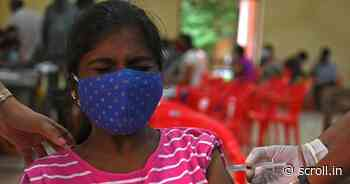 Coronavirus: Differently-abled persons will be vaccinated at home, says Centre - Scroll.in