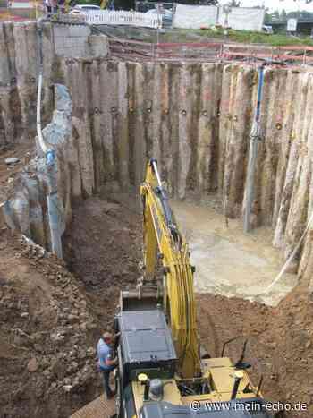 Baustopp am Regenüberlaufbecken Willigisbrücke in Aschaffenburg - Main-Echo