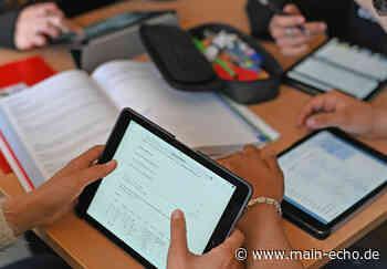 """Kreis Aschaffenburg stattet Schulen mit mobilen Endgeräten aus: 2400 Tablets für die """"Schule von morgen"""" - Main-Echo"""