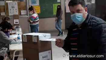 Monte Grande: Votó Marcos Domenichini - El Diario Sur
